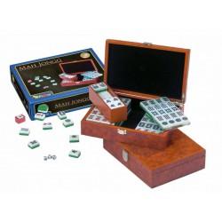 Mah Jongg + caja de madera