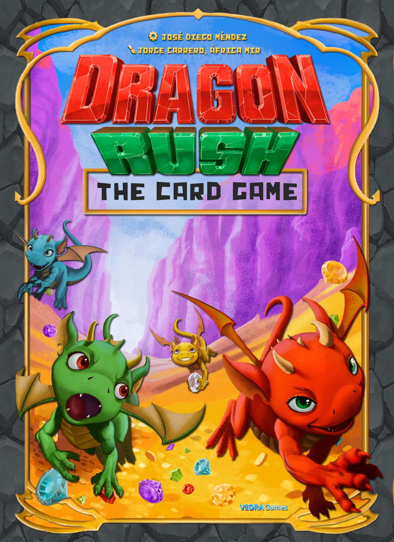 Dragon Rush - Cartas