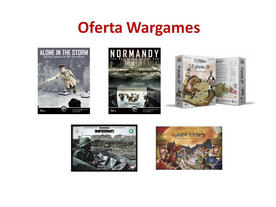 Pack Oferta Wargames